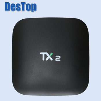 3 шт. Новые 2 + 16 г TX2 Android ТВ коробка Smart Box RK3229 BT2.1 DLNA полностью загружен H.265 4 К Поддержка HD медиаплеер пульт дистанционного управления