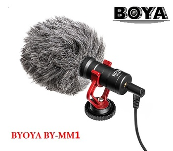 BOYA BY-MM1 компактный на Камера микрофон видео YouTube vlogging Запись микрофоном для IPhone смартфон Huawei Джи Осмо Canon DSLR